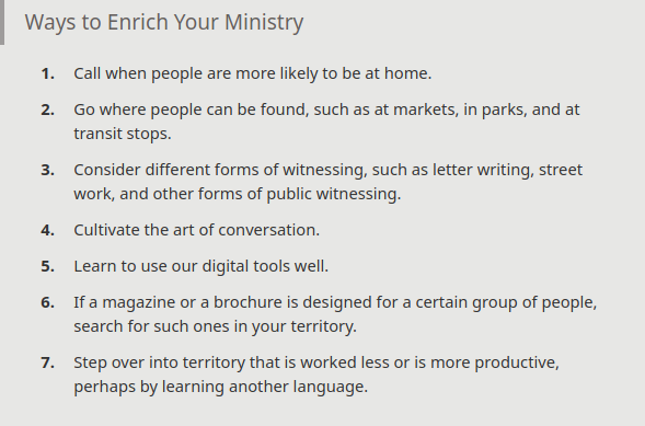 Ways to Enrich Your Ministry